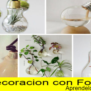 curso decoracion con focos luces